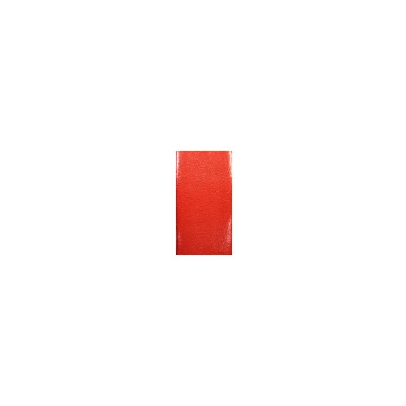 cuir plat de 20mm de large couleur rouge corail vente au cm. Black Bedroom Furniture Sets. Home Design Ideas